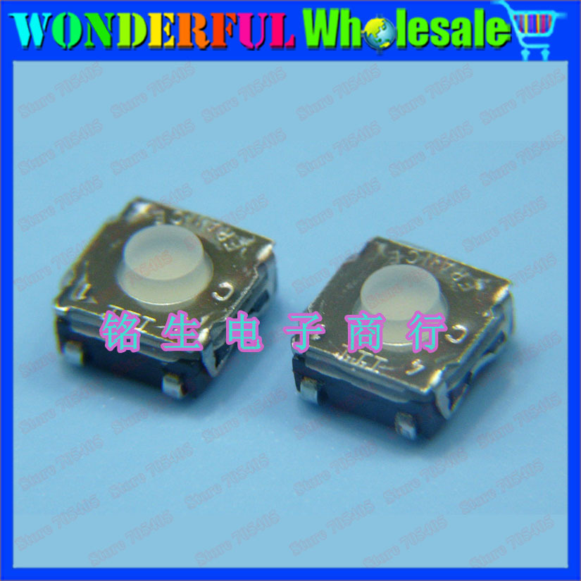 French original ITT Import button SMD keys 6*6*3.2mm Plastic head waterproof switch Touch switch button 6x6x3.2mm(China (Mainland))