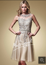 2015 short cocktail dress lace appliques sleeveless with scoop neckline sashes petite cocktail gowns(China (Mainland))
