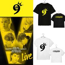 YG family BIGBANG T-shirt 2015 bigbang MADE 9th anniversary t shirt kpop clothes women men clothing tee TOP GD Gdragon - Athena 's store