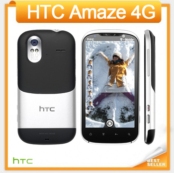 """Amaze 4G Original Unlocked HTC G22 Amaze 4G X715e Cell phone Wi-Fi GPS 8.0MP 4.3""""TouchScreen 3G Android Phone Free Shipping"""