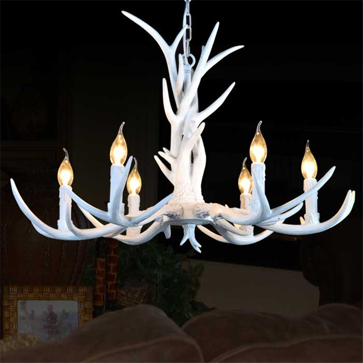 Online get cheap deer antler lamps for Nachttischlampe vintage