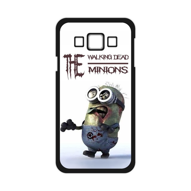The Walking Dead Zombie Minions Cover Case for iPhone 4 4S 5 5S 5C 6 6S Plus Galaxy S3 S4 S5 Mini S6 S7 edge Note 2 3 4 J5 J7