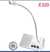 Simple to use Window Intercom E320 window talkback kits for bank hospital window counter Amplifying intercom system(China (Mainland))