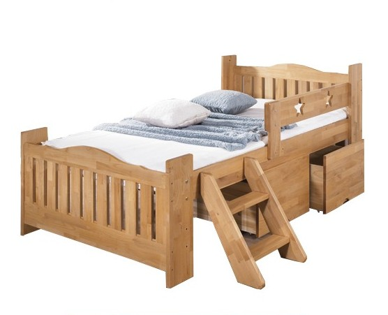 Special offer free shipping Child bed cot child wood