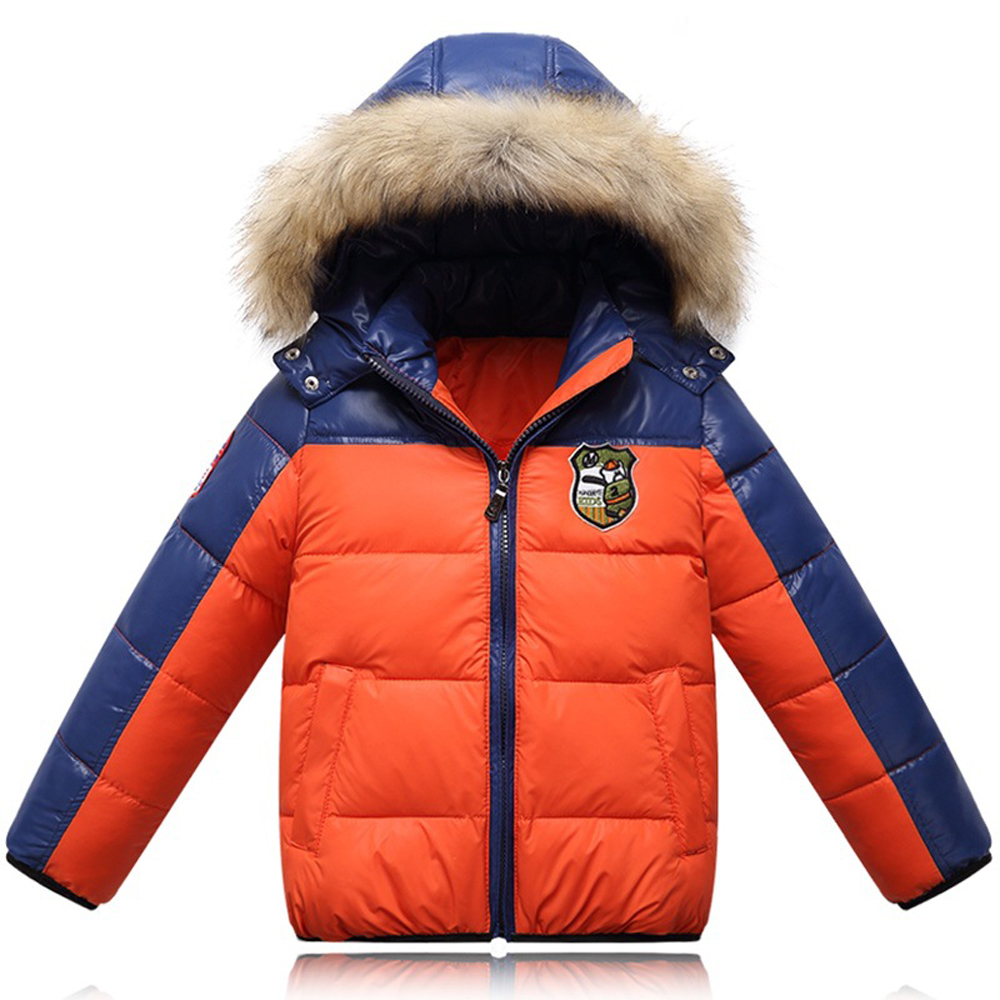 New Fashion Winter Boys Outerwear Kids Thick Coat Boy Warm Hooded Padded Down Jackets Casual Children Clothing 3-color D3J149(China (Mainland))