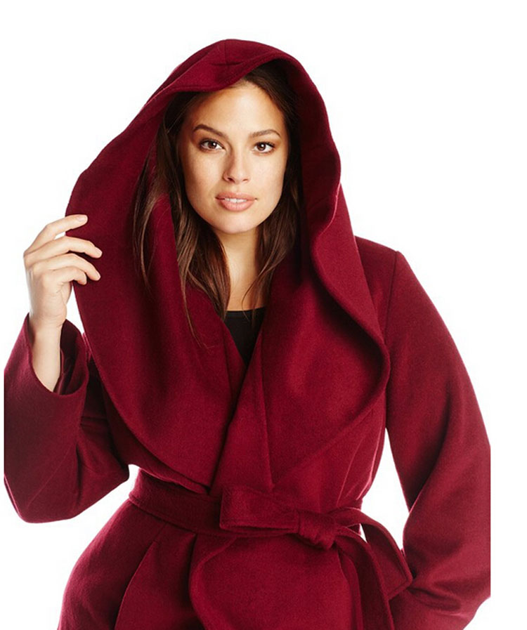 Full Length Wool Coat Hood Wool Promotion-Shop for Promotional ...