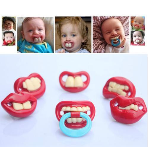 Silicone Funny Nipple Dummy Baby Soother