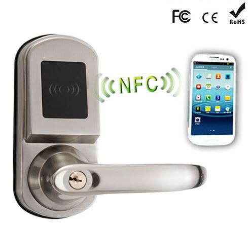 Bluetooth Remote Hotel Smart Door Locks Nfc Door Lock