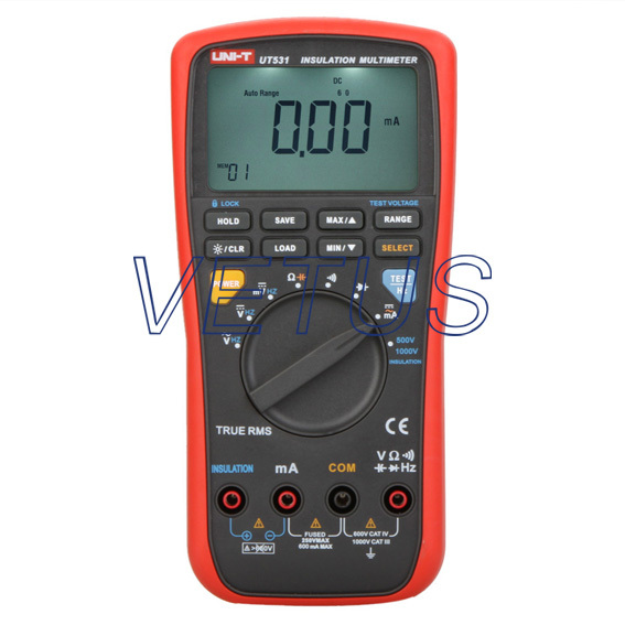 Free shipping ! UT531 Insulation Resistance Multimeter<br><br>Aliexpress