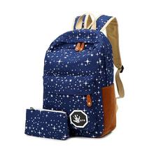 Mochilas Bolsas Femininas saco de desporto ao ar livre Camping caminhadas mochila de viagem sacos com caneta escola bolsa de omb