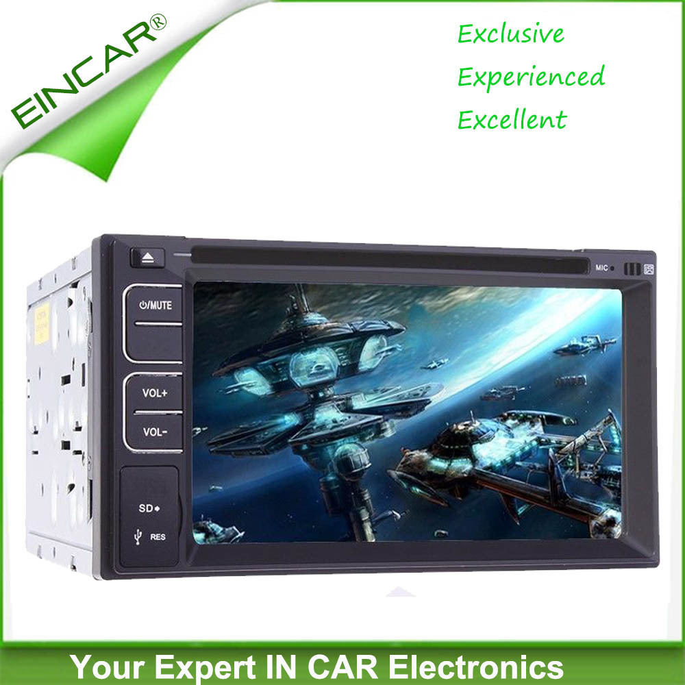 Double 2 Din In-dash Car Stereo Video Player 7 inch Touch Screen Car DVD CD Player Built-in Bluetooth,USB SD Aux in,AM/FM Radio,(China (Mainland))