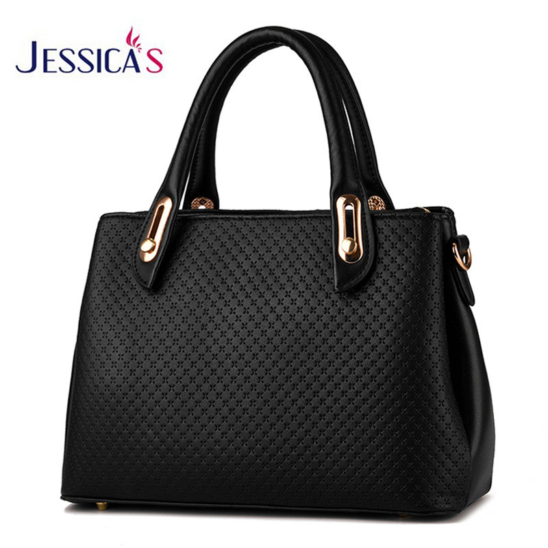 New Design High Quality Handbags Texture Pattern Leather OL Saffiano Briefcase Bags Female Top Handle Tote