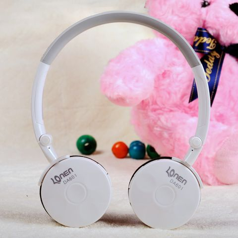 Free shipping 2.4G wireless Stereo computer headphone earphone headset with mic skype facebook MSN Wireless chat(China (Mainland))