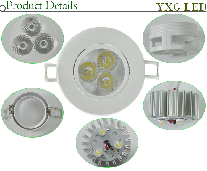 High Ceiling Light Bulb Replacement Service : Wholesale pcs lot inch w led down light recessed