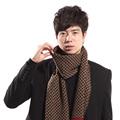 Classic Design Male Scarf plaid classic tartan scarf Winter Striped scarves For Man Warm Soft cotton Shawl Luxury S03F4