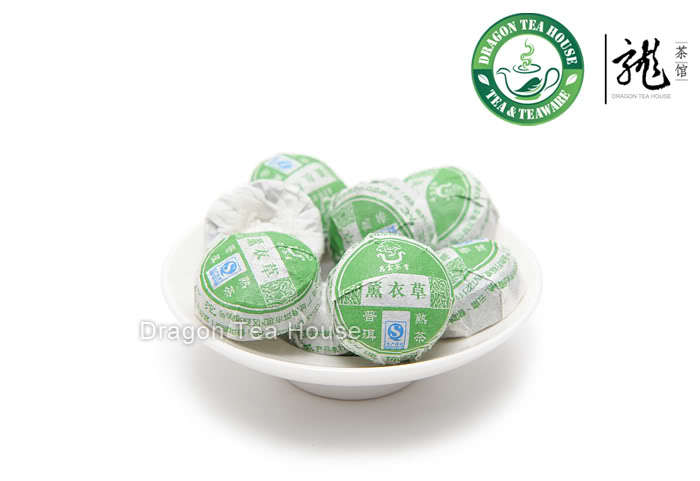 Lavender * Chang Yun Premium Mini Tuo Cha Puer Tea Ripe 20 pcs<br><br>Aliexpress