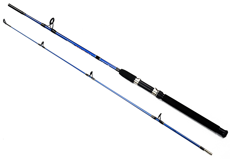 Top quality fishing rods carbon hard lure rod 2 section for Strongest fishing rod