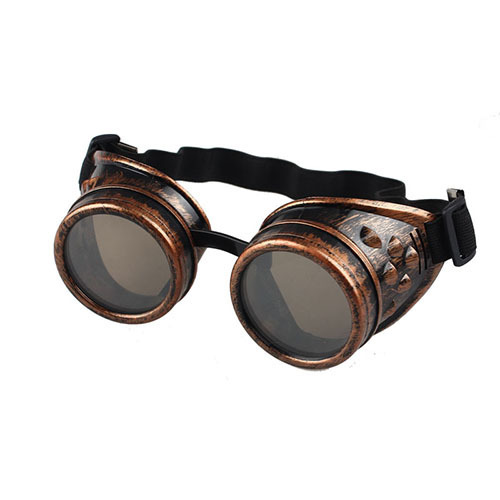 Unisex Gothic Vintage Victorian Style Steampunk Goggles Welding Punk Gothic Glasses Cosplay 4Colors Sunglasses For Men Women(China (Mainland))