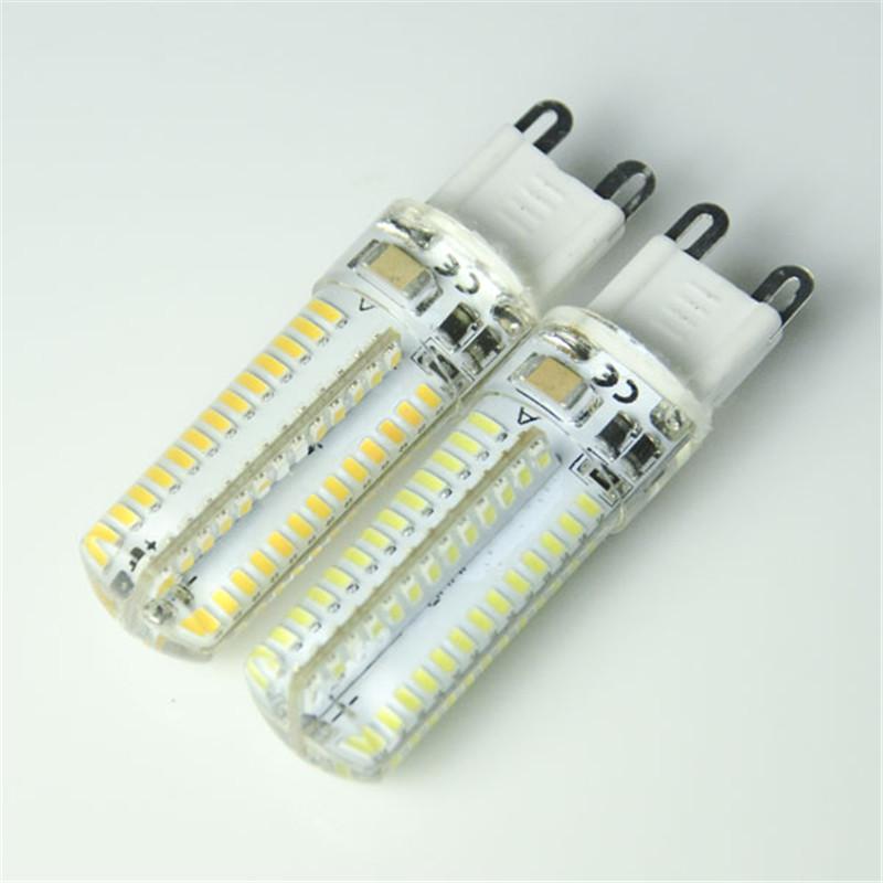 New SMD3014 led bulb G9 5W 6W 7W 64led 72led 104led Silica Gel LED 3014smd lamp AC110V 220V led corn bulb Warmwhite/White light(China (Mainland))
