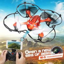 New Original JJRC H6W 2.4G 4CH 6-Axis Gyro RC FPV Quadcopter Real-time Transmission RC Wifi Drone with 2.0MP HD Camera