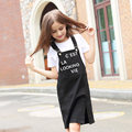 2016 Summer Kids Clothes for Teen Cotton Frock Designs Girls Overall Dress For Chirldren s Age