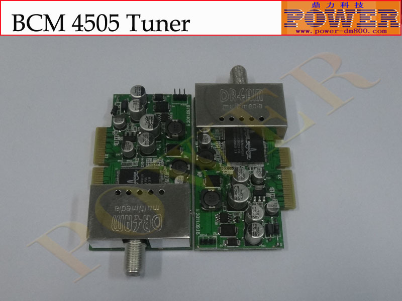 Free shipping ,the Good quality BCM 4505 tuner Support dvb s2,which can be used for 800se satellite receiver(Hong Kong)