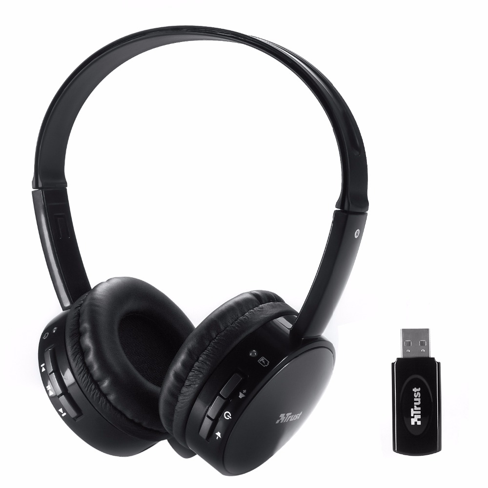 Rechargeable Multifunction 2.4G Wireless Headset Headphone Computer Headphones with Microphone for PC(China (Mainland))