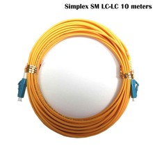 LC-LC fiber connectors patchcord Optical jumper FTTH single mode Simplex 10 meters LC/UPC-LC/UPC-SM-2.0-10m - Foshan fmcomm Communication Co., Ltd. Store store