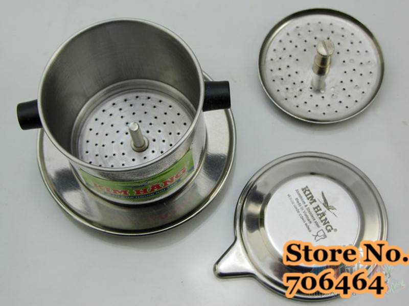 Manual Drip Coffee Maker How To Use : Vietnam coffee dripper KIMBANG screw design Vietnam drip coffee maker manual Vietnamese drip ...