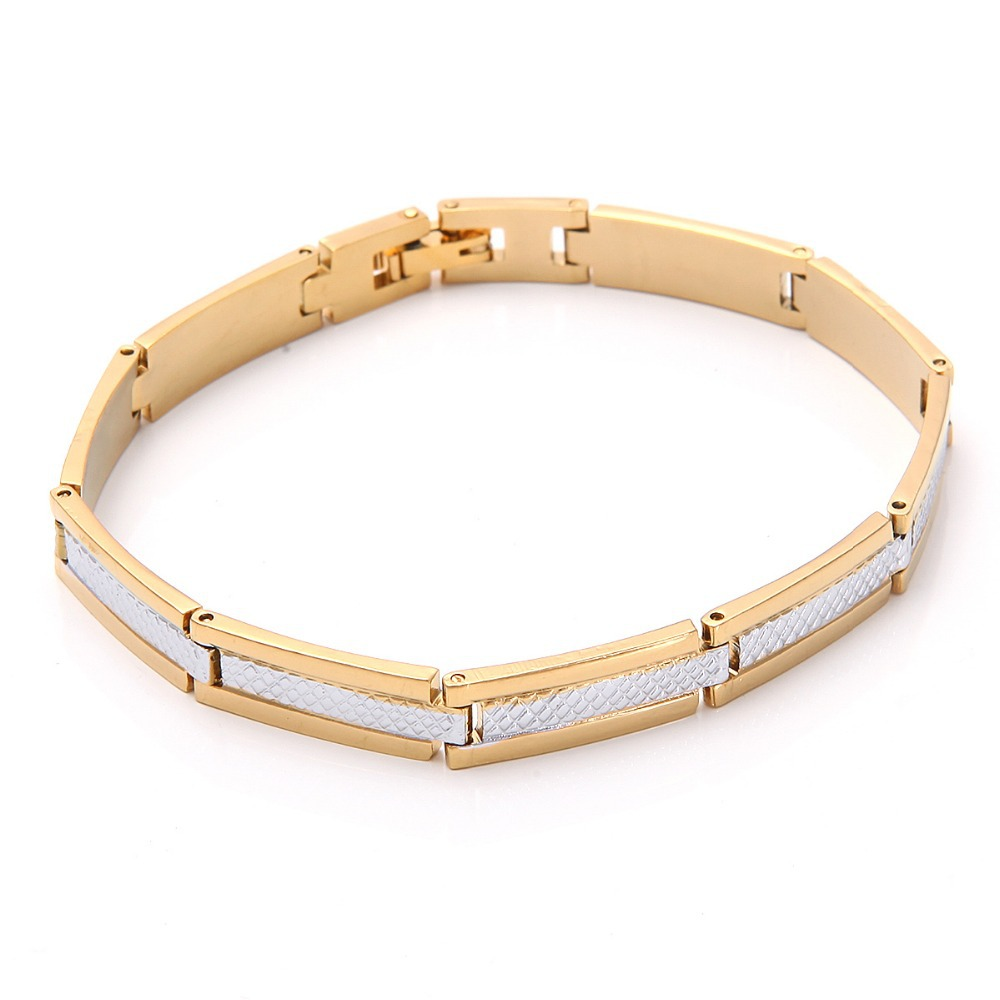 Men Jewelry Cuban Link Bracelet For Women/Men 18K Yellow Gold Filled Bracelet Chain High Quality Wholesale Price B72(China (Mainland))