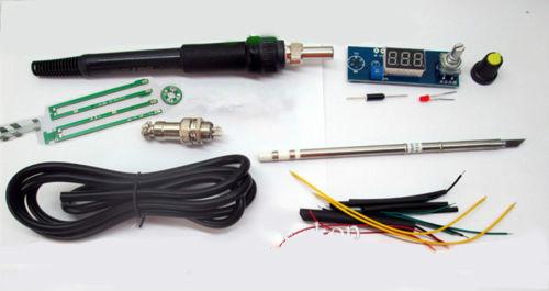 buy newarrival digital soldering iron station temperature controller kits for. Black Bedroom Furniture Sets. Home Design Ideas