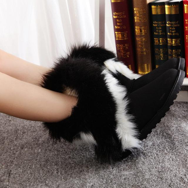 Winter boots snow boots women boots plus velvet plus size botas femininas ankle boots for women 2015 new plus size winter shoes