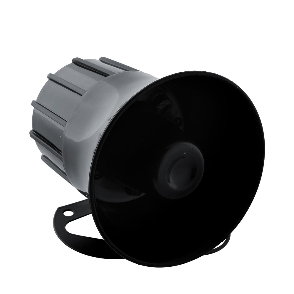 New Universal 6 Tone Car Security Alarm Warning Siren Horn 12V 110db Trailer Bus Boat ABS Portable High quality(China (Mainland))