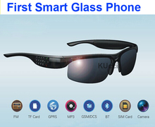 2015 New arrival  Outdoor driver sun Sport Glasses for Men Smart Glass Phone  Bluetooth FM 2MP Camera Keyboard For android phone(China (Mainland))