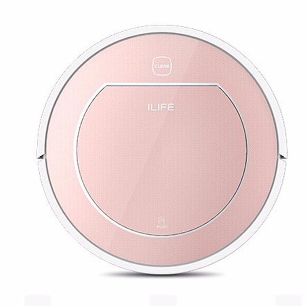 ILIFE V7S Robot Smart Vacuum Cleaner Wet and Dry Clean 500ML Super Water Tank HEPA Filter Ciff Sensor Auto Charge Home ASPIRADOR(China (Mainland))