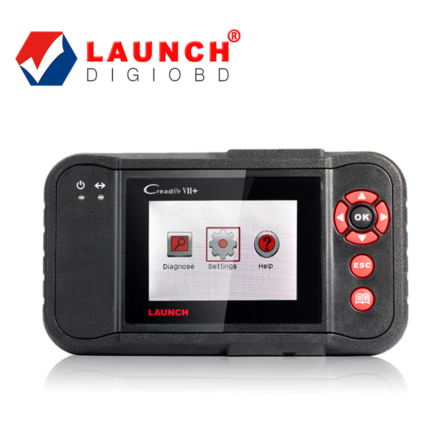 Professional Car Code Scan Tool Launch Creader VII+ Diagnosis On Four Main ECU's (ENG\ABS\SRS\AT) Free Online Update(China (Mainland))