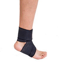 New Sports Safety Ankle Support Pad Protection Ankle Bandage Elastic Brace Guard Support Sports Gym Foot Wrap Protection Brand(China (Mainland))