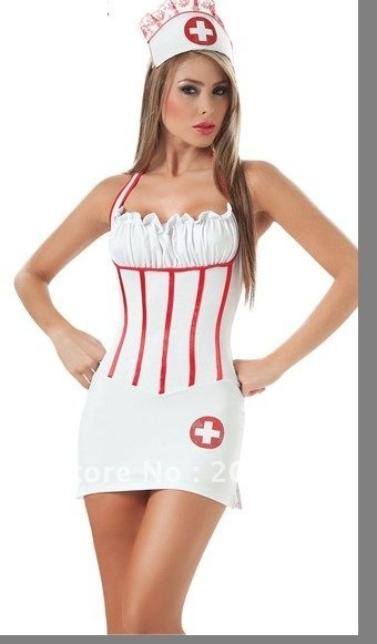 Гаджет  88551 Free shipping high quality nurse costume,sexy halloween apparel, adult costume,sexy womeh