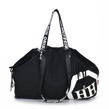 Buy Women Casual Large Capacity Canvas Travel Bag Duffel Bag Twenties Girls Gear Totes Handbags Shoulder Bags Bolso for $25.11 in AliExpress store