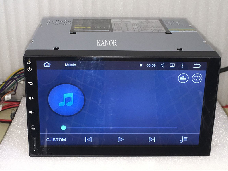 KANOR 7″ 2Din 1024*600 Android 7.1 Car PC Tablet 2 din Universal For Nissan GPS Navigation BT Radio Stereo Audio Player(No DVD)