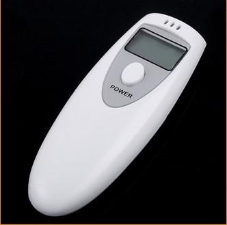 Тестер спирта белый сингл-ювелирные экран цифровой дисплей алкоголя мини-тестер портативный испытательное оборудование
