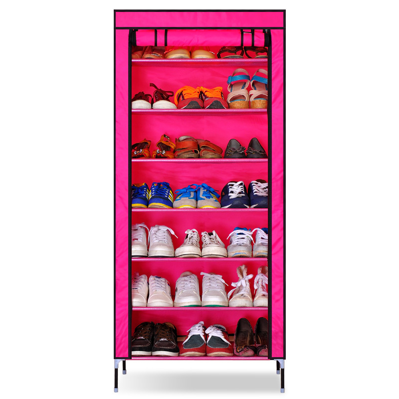 Гаджет  Free Shipping Oxford Cloth Large Capacity Furniture DIY Simple Shoe Rack Storage Cabinet Shoe Cabinet Multiple Layer Water Proof None Мебель