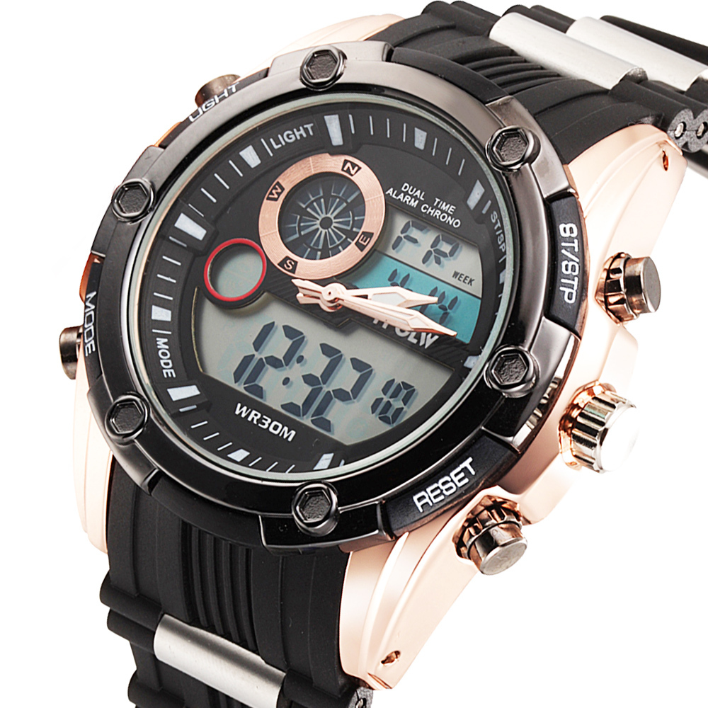 Watches LED Men Digital Watch Men Sports Watches For Men ...