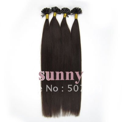 Remy Keratin Tipped Hair Extensions 80