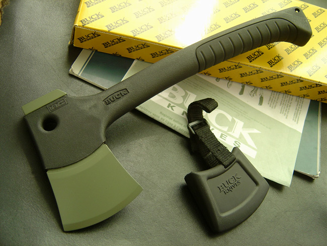 free shipping Buck 757 life-saving axe camping adae poleaxe mountains outdoor axes(China (Mainland))