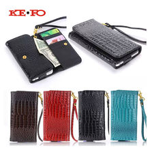 Buy KEFO Wallet Leather Case iPhone 7 plus 6 plus Universal Crocodile Purse Cover Luxury Phone Bag Cases 5.5inch KF431C for $6.18 in AliExpress store
