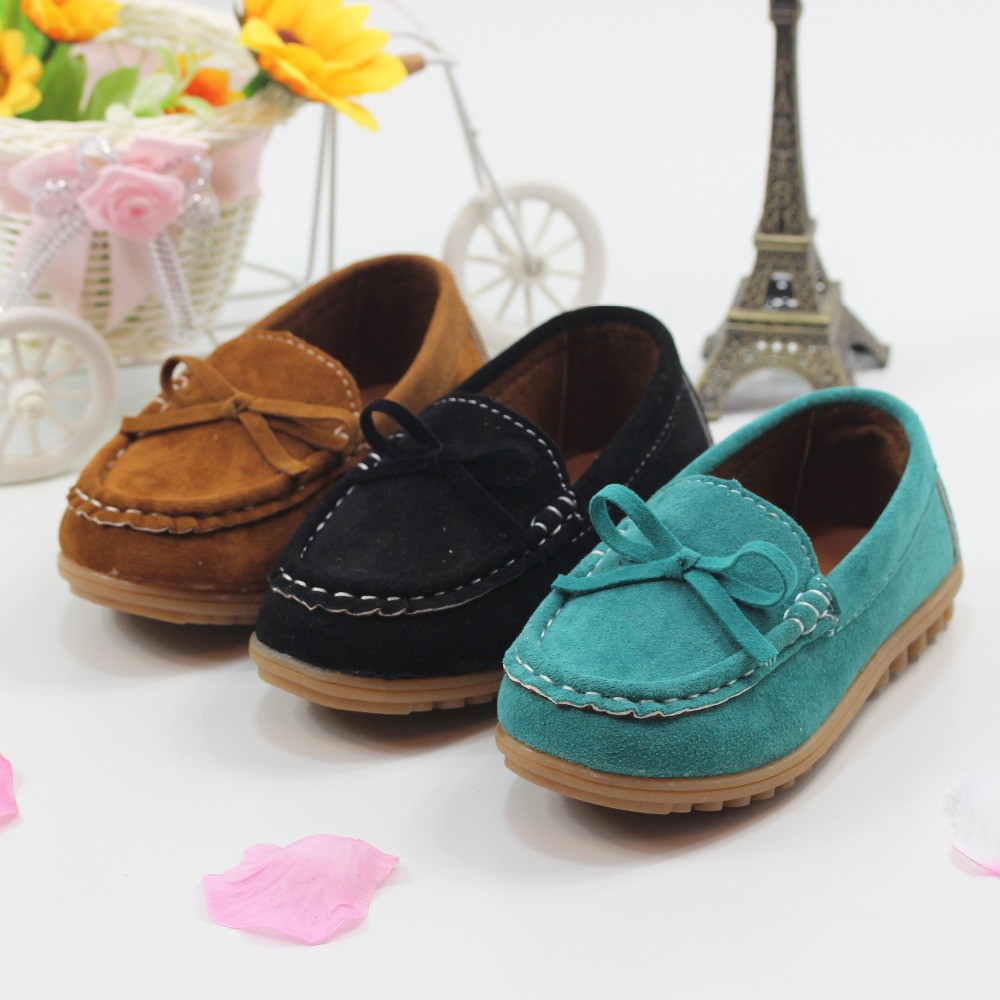 Size 21-30 Wholesale Children Shoes boys and girls Leisure Sports Shoes Boat Shoes Cow Muscle Soft Kids Sneakers(China (Mainland))