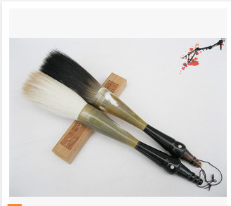 chinese calligraphy brush artist pen traditional painting queen grab quince put bucket full horn - CNID12 Co. Ltd. store
