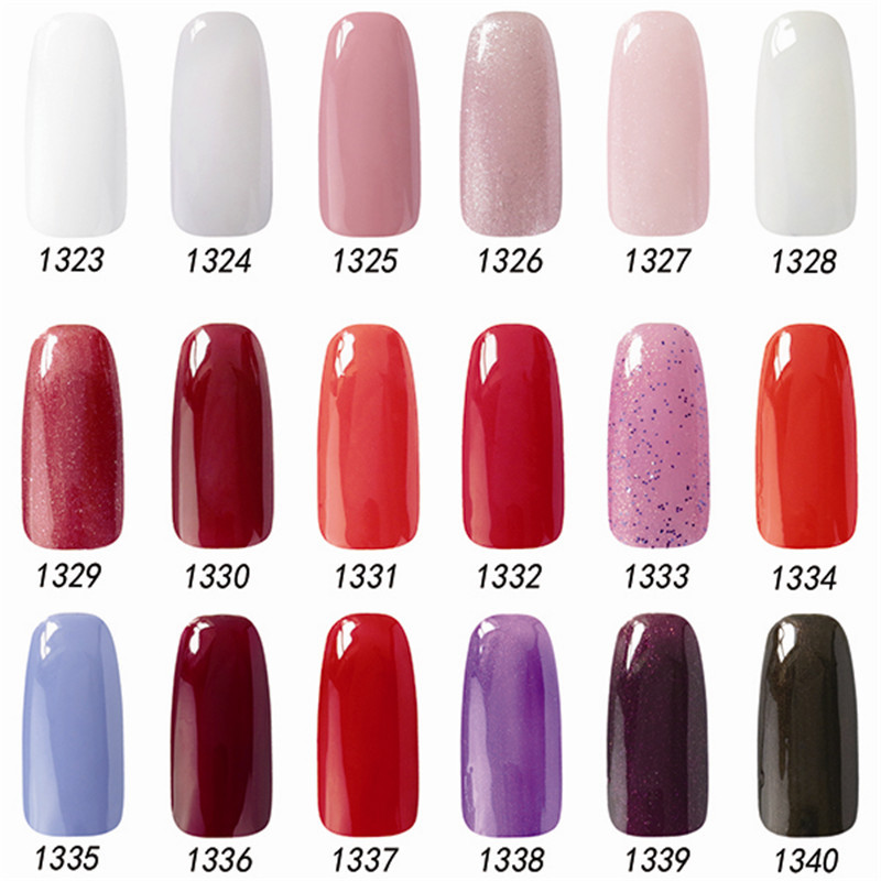 Nail Polish Change Color Nail Gelishgel Acrylic Paint Different Colors ...