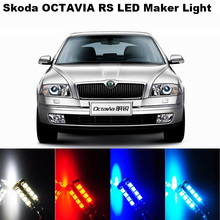 2X Error Free For Skoda Octavia A5 A7/Fabia/Rapid/Superb/rs1 2/VRS/  Side Maker Light Clearance Light For CAR W5W T10 38LED (China (Mainland))